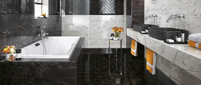 Brick atelier nowa seria atlas concorde ju w mceramic for Atlas salle de bain