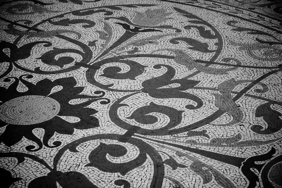P ytki ceramiczne a mozaika oto najnowsze trendy mceramic - Tegelvloer patroon ...