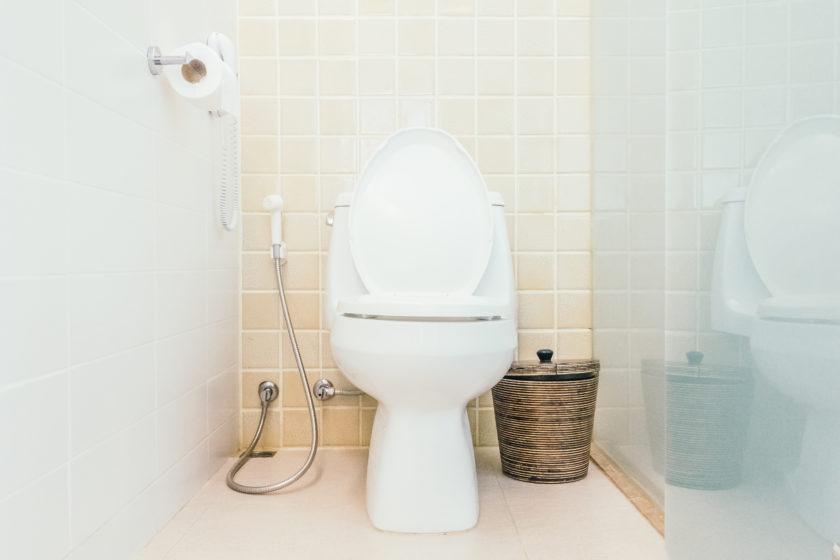 Toalety myjące