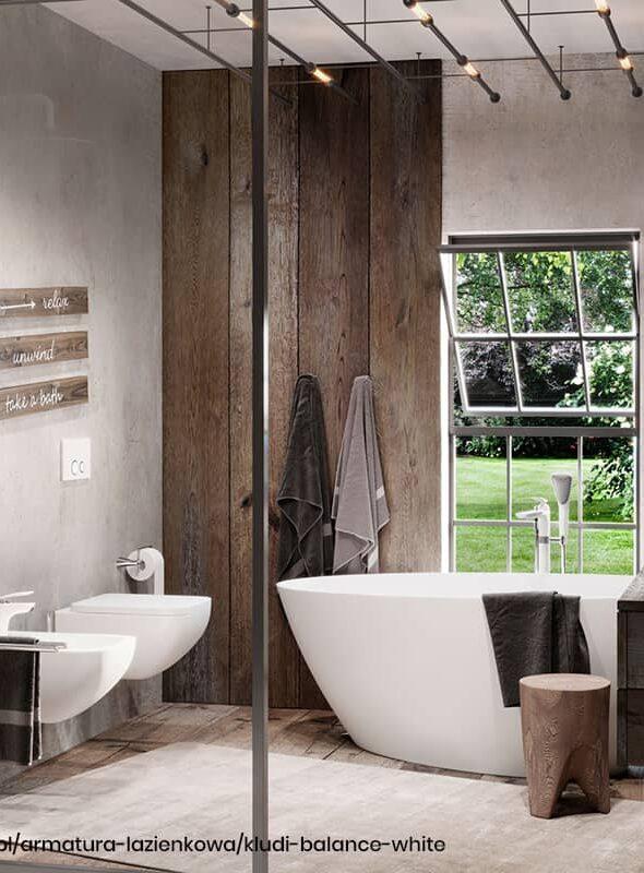 Trendy w projektowaniu: białe baterie łazienkowe